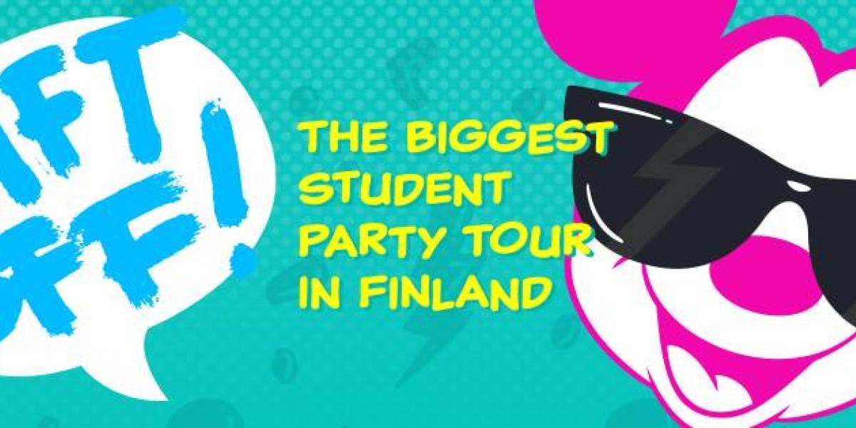 LIFT OFF- Suomen suurin opiskelijabilekiertue