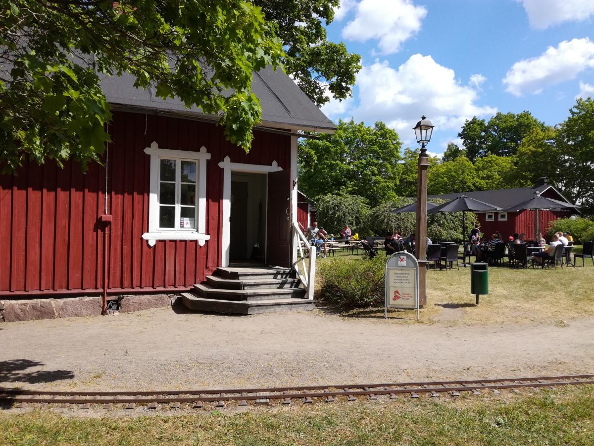 Kuva Rautatiemuseon kahvilasta