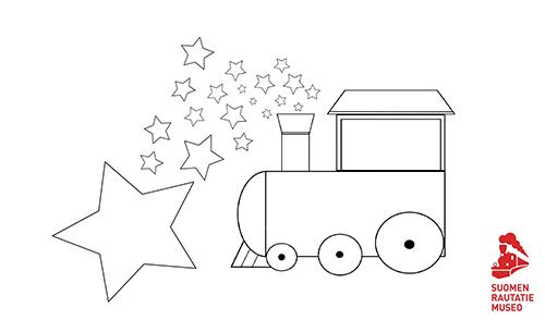 Värityskuva Tähtijuna